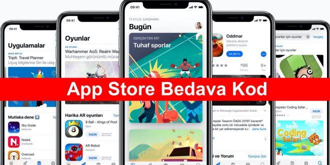 App Store Bedava Kod