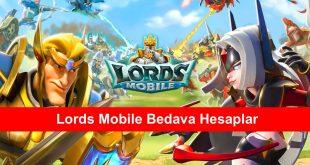 Lords Mobile Bedava Hesaplar